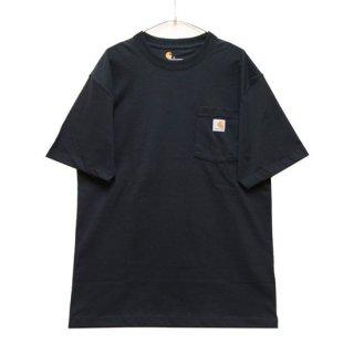 CARHARTT カーハート WORKWEAR POCKET S/S TEE K87/BLACK