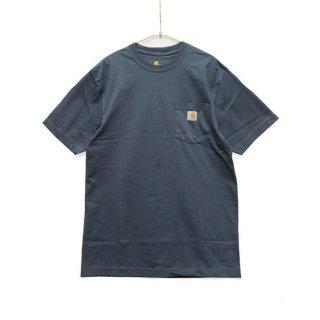 CARHARTT カーハート WORKWEAR POCKET S/S TEE K87/BLUE STONE