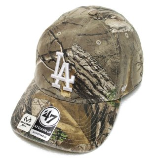 47BRAND フォーティーセブン DODGERS REALTREE '47 CLEAN UP CAP/CAMO