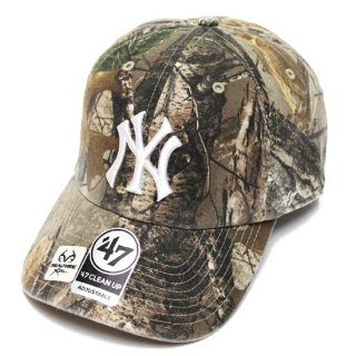 47BRAND フォーティーセブン YANKEES REALTREE '47 CLEAN UP CAP/CAMO