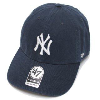 47BRAND フォーティーセブン YANKEES '47 CLEAN UP CAP/NAVY