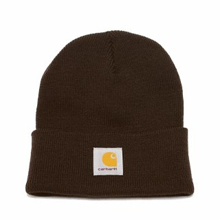 CARHARTT カーハート ACRYLIC WATCH HAT A18/DARK BROWN