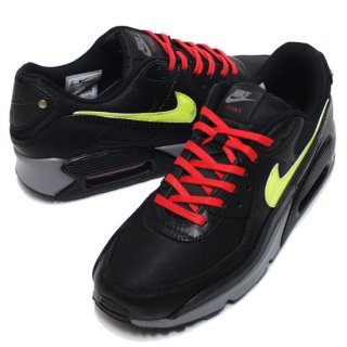 NIKE ナイキ AIR MAX 90 PREMIUM NYC CITY PACK CW1408-001/BLACK SPEED YELLOW-SMOKEY GREY