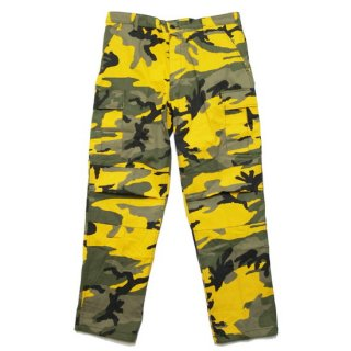 ROTHCO ロスコ TACTICAL BDU PANTS 8875/STINGER YELLOW CAMO