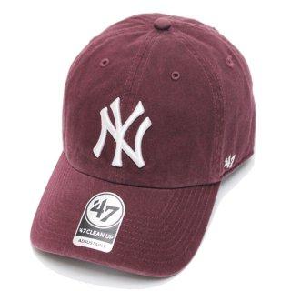 '47 フォーティーセブン YANKEES '47 CLEAN UP CAP/DARK MAROON