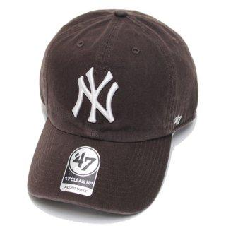 '47 フォーティーセブン YANKEES '47 CLEAN UP CAP/BROWN