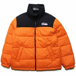 FIRST DOWN ファーストダウン REVERSIBLE DOWN JACKET F842500/ORANGExBLACK