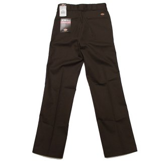 DICKIES ディッキーズ ORIGINAL 874 WORK PANTS/DARK BROWN
