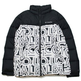 COLUMBIA コロンビア PIKE LAKE JACKET WE0019/BLACKxWHITE