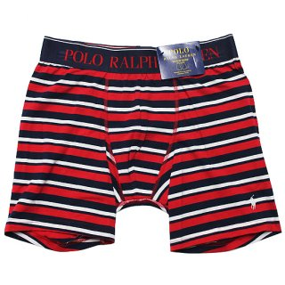 POLO RALPHLAUREN ポロ ラルフローレン COTTON STRETCH BOXER BRIEF/RED STRIPE