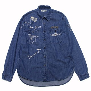 AVIREX アヴィレックス HAND CRAFT DENIM SHIRT 6115103/DENIM