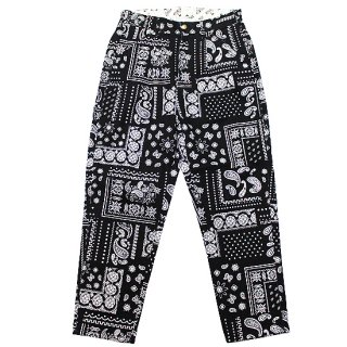 BEN DAVIS ベンデイビス ACTIVE WORKER PANTS G-1180002/BLACK PAISLEY