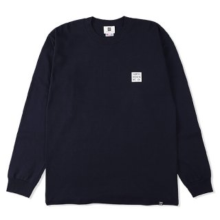 THUMPERS サンパーズ LOGO L/S TEE/NAVY