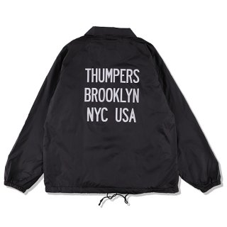 THUMPERS サンパーズ REFLECTOR LOGO COACH JACKET/BLACK