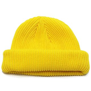 ADVANCE アドバンス COTTON BEANIE/YELLOW