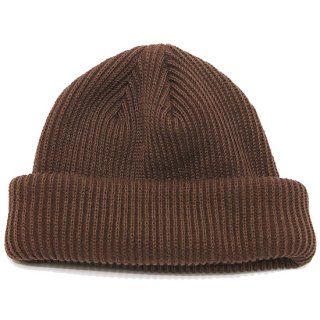 ADVANCE アドバンス COTTON BEANIE/BROWN