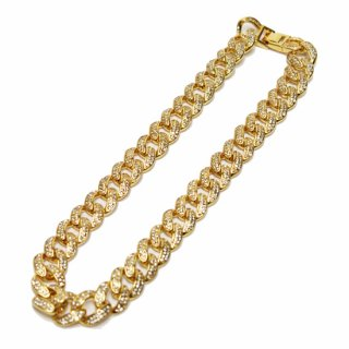 ADVANCE アドバンス ZIRCONIA GOLD CHAIN NECKLACE 3100-G/GOLD