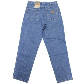 CARHARTT カーハート RELAXED FIT TAPERED LEG DENIM PANTS B17/STONE WASH