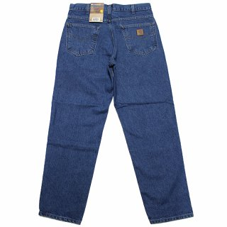 CARHARTT カーハート RELAXED FIT TAPERED LEG DENIM PANTS B17/DARK STONE