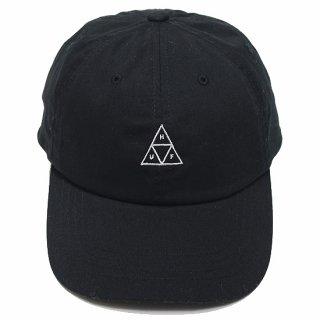 HUF ハフ ESSENTIALS TT LOGO CV 6 PANEL CAP/BLACK