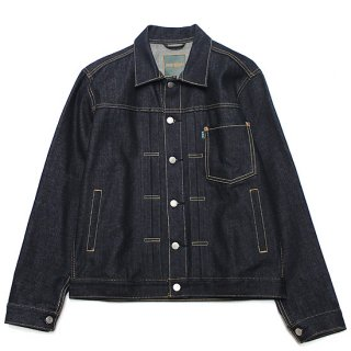 POT MEETS POP ポットミーツポップ TYPE� DENIM JACKET S1001/DEEP INDIGO