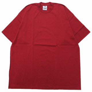 PRO CLUB プロクラブ HEAVYWEIGHT CREW NECK S/S TEE/BURGUNDY