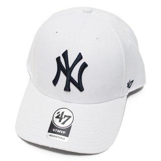 47BRAND フォーティーセブン YANKEES '47 MVP CAP/WHITE