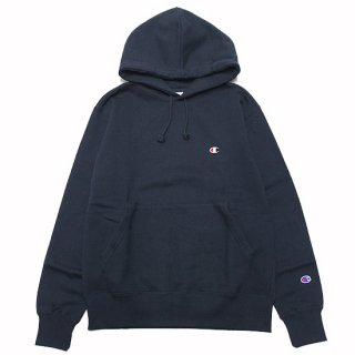 CHAMPION チャンピオン BASIC HOODED SWEAT C3-Q101/NAVY