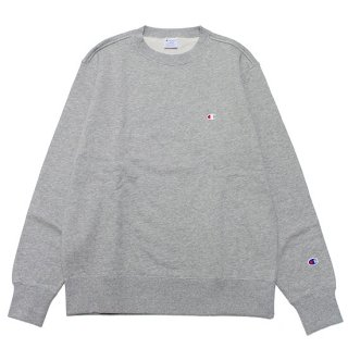 CHAMPION チャンピオン BASIC CREWNECK SWEAT C3-Q001/OXFORD GREY