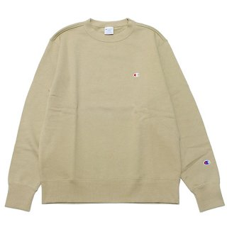 CHAMPION チャンピオン BASIC CREWNECK SWEAT C3-Q001/BEIGE