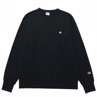 CHAMPION チャンピオン BASIC CREWNECK SWEAT C3-Q001/BLACK