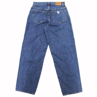 GUESS ゲス BAGGY DENIM PANTS ML1D8961RZ/MEDIUM BLUE