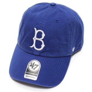 '47 フォーティーセブン DODGERS COOPERSTOWN '47 CLEAN UP CAP/ROYAL