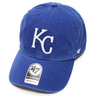 47BRAND フォーティーセブン ROYALS '47 CLEAN UP CAP/ROYAL