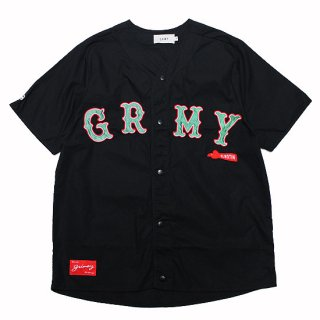 GRIMEY グライミー THE LOOT BASEBALL SHIRT GBSH116/BLACK