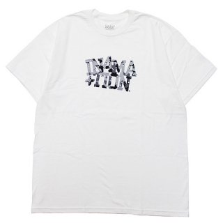 IN4MATION インフォメーション D-STORM S/S TEE/WHITE