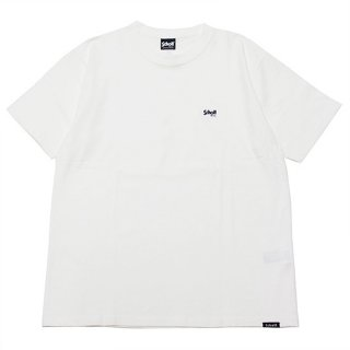 SCHOTT ショット ONE POINT S/S TEE 3113106/WHITE