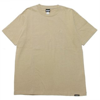 SCHOTT ショット ONE POINT S/S TEE 3113106/BEIGE