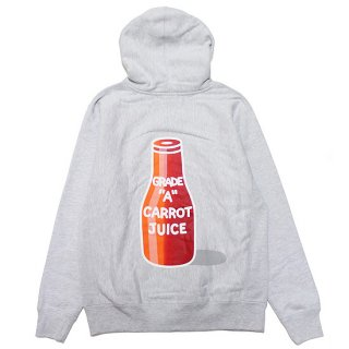 CARROTS BY ANWAR CARROTS キャロッツ CARROT JUICE HOODIE/ATHLETIC HEATHER