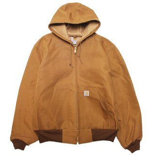 CARHARTT カーハート THERMAL LINED DUCK ACTIVE JACKET J131/CARHARTT BROWN