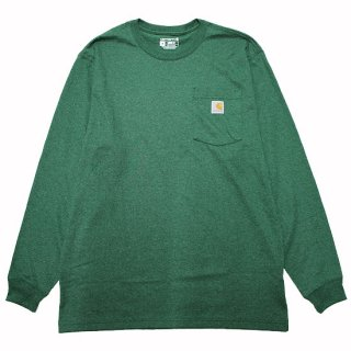 CARHARTT カーハート WORKWEAR POCKET L/S TEE K126/NORTH WOODS HEATHER