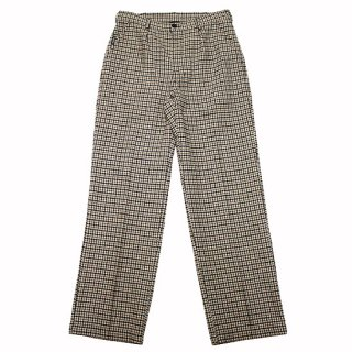 WASTED PARIS ウェステッドパリス HOUNDSTOOTH WOKER PANTS/BROWN