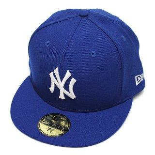 NEWERA ニューエラ NEWYORK YANKEES 59FIFTY FITEED CAP/ROYALxWHITE