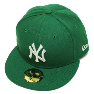 NEWERA ニューエラ NEWYORK YANKEES 59FIFTY FITEED CAP/GREENxWHITE