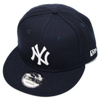NEWERA ニューエラ NEWYORK YANKEES 9FIFTY SNAPBACK CAP/NAVYxWHITE