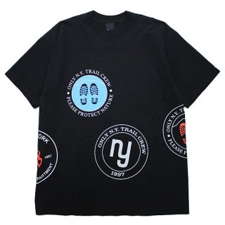 ONLY NY オンリーニューヨーク HIKING PATCH S/S TEE/BLACK