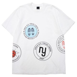 ONLY NY オンリーニューヨーク HIKING PATCH S/S TEE/WHITE