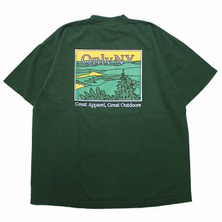 ONLY NY オンリーニューヨーク LODGE LANDSCAPE POCKET S/S TEE/DARK GREEN