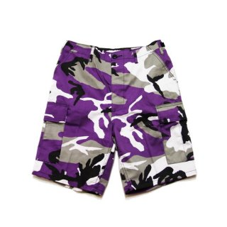 ROTHCO ロスコ TACTICAL BDU SHORTS 7100/VIOLET CAMO
