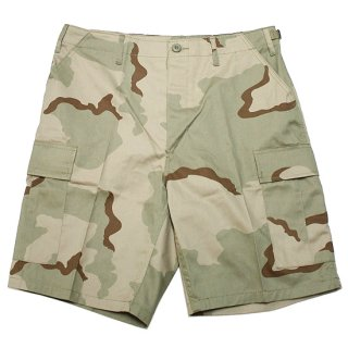 ROTHCO ロスコ TACTICAL BDU SHORTS 7672/TRI-COLOR DESERT CAMO